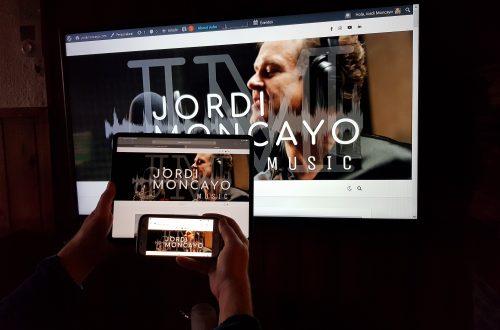 Nueva web Jordi Moncayo .com