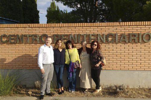 Jordi Moncayo, Estela, Camino, Flavia en C.P. Zuera (Junio 2017)